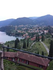 Bellagio visto desde arriba
